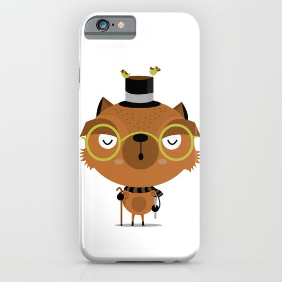 Cat with hat iPhone & iPod Case