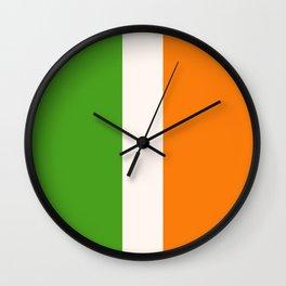 Irish Tri Colour Wall Clock