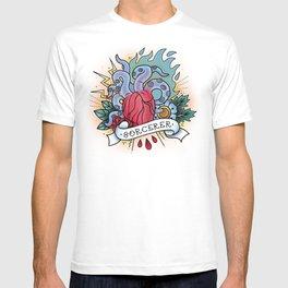 Sorcerer - Vintage D&D Tattoos T-shirt