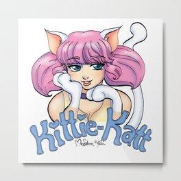 Kittie-Katt Metal Print