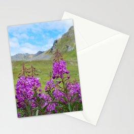 Hatcher_Pass Fireweed - Alaska Stationery Cards