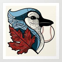 Blue Jays Go Team 1 Art Print