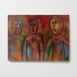 The village people by rafi talby Metal Print