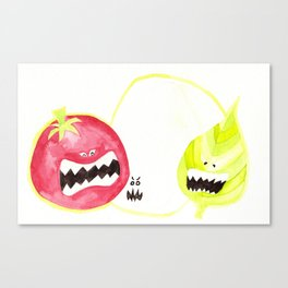 Attack of the Killer Caprese Canvas Print