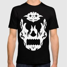 Bloodlust Skull Mens Fitted Tee MEDIUM Black