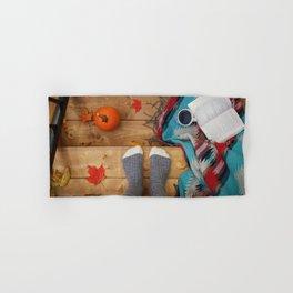 Her Autumn (Color) Hand & Bath Towel
