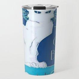 Le Chat Blanc Travel Mug
