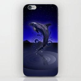 Dolphin - Night iPhone Skin
