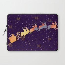 I dream of Santa Claus | Christmas Vision Laptop Sleeve
