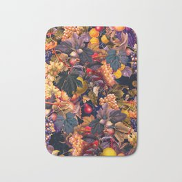 Vintage Fruit Pattern VI Bath Mat