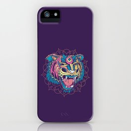 Huichol Tiger iPhone Case