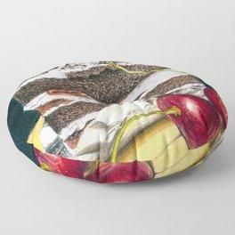 Thousand-dollar Black Forest Slice Floor Pillow