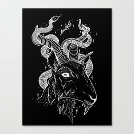 Goat God Canvas Print