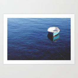 Drifting. Art Print