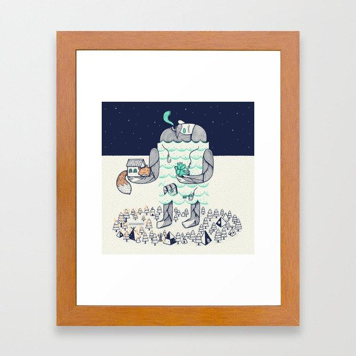 Arrivals Framed Art Print