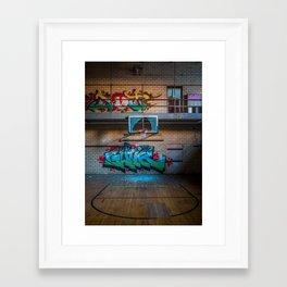 Hoop Dreams Deferred Framed Art Print