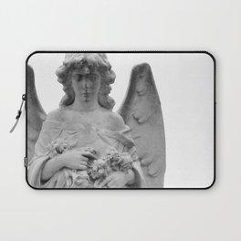 Angel Watching Over Me Laptop Sleeve
