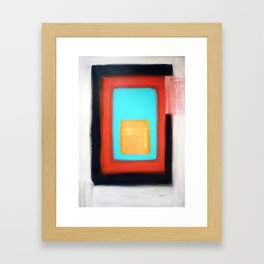 Living Rothko Framed Art Print