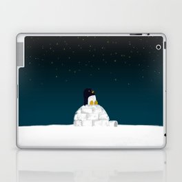 Star gazing - Penguin's dream of flying Laptop & iPad Skin