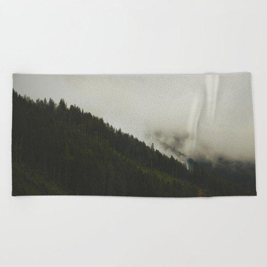 Evergreen Mist Beach Towel