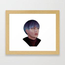 Exo Kai Framed Art Print