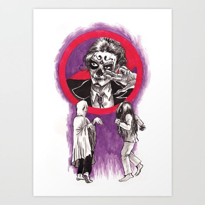 Ghost Dancing Art Print