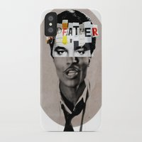 the godfather iPhone & iPod Cases featuring Godfather Mix 1 white by Marko Köppe