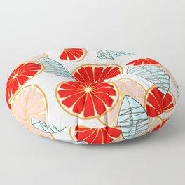 Blood Oranges Floor Pillow