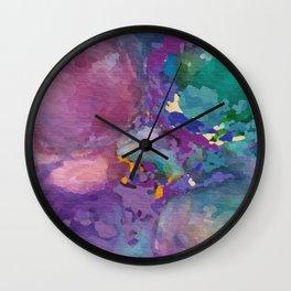 Psychedelic Flatulence Wall Clock