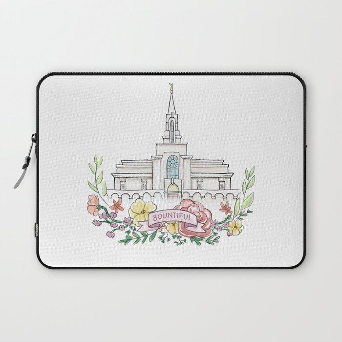 LDS Bountiful Temple  Laptop Sleeve