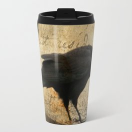 Crow Caws Travel Mug