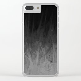 Everything Fades to Black Clear iPhone Case