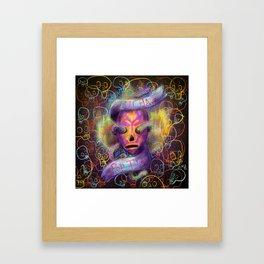 Lucha Framed Art Print