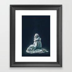 Child of the Light Framed Art Print