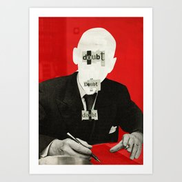 The truth is dead 1932 Art Print