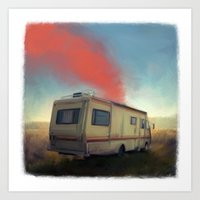 breaking bad Art Prints featuring breaking bad by robotrake