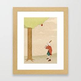 Always Be Ready When Inspiration Strike. Framed Art Print