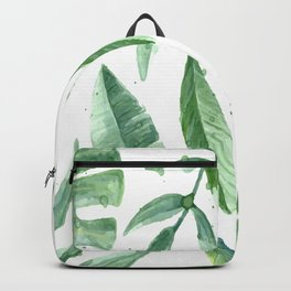 Leaves of the tropics Backpack