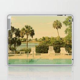 Lolita's Poolside Vacation - Beach Art Laptop & iPad Skin