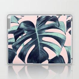 Tropical Monstera Leaves Dream #3 #tropical #decor #art #society6 Laptop & iPad Skin