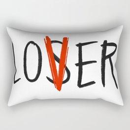 Loser | Lover Rectangular Pillow