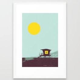 Locals Only - San Diego Framed Art Print