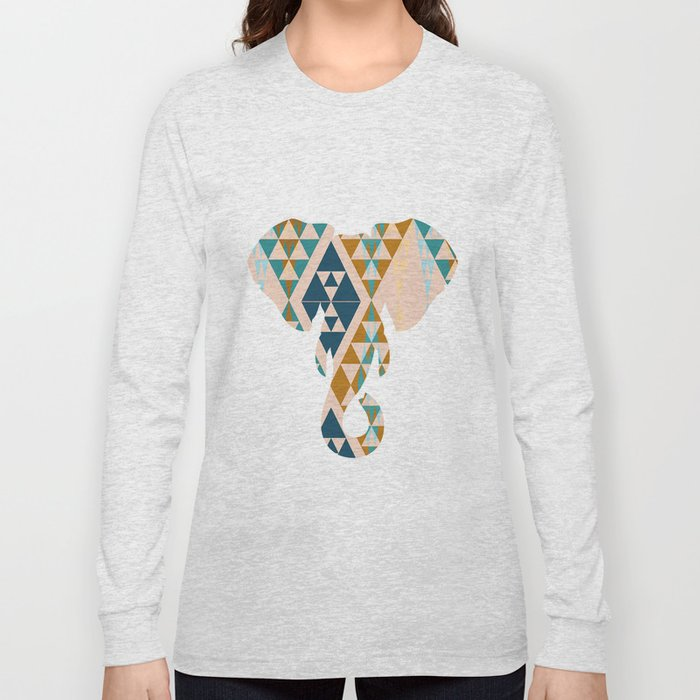 Gajraj - The Elephant Head Long Sleeve T-shirt