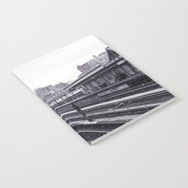 New York Subway Black and White Notebook