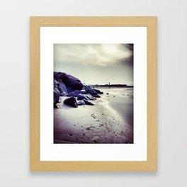 Jetties Framed Art Print