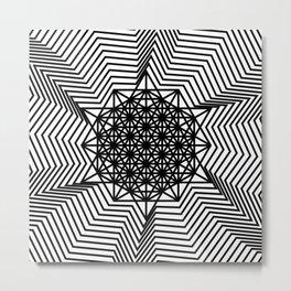 star tetrahedron Metal Print