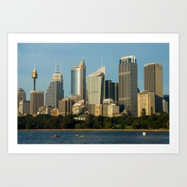 Sydney Central Business District Art Print