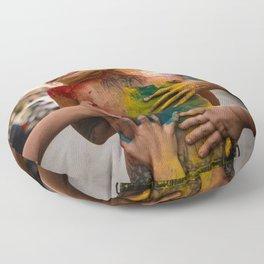 Festival of Colors Floor Pillow