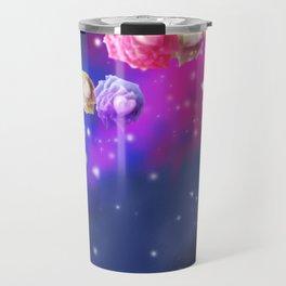 Galaxy Roses Travel Mug