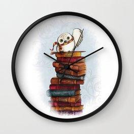 Magic Owl Wall Clock